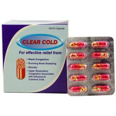 Clear cold-Capsules