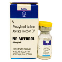 NP Mederol-40mg-injection-Methylprednisolone-Acetate