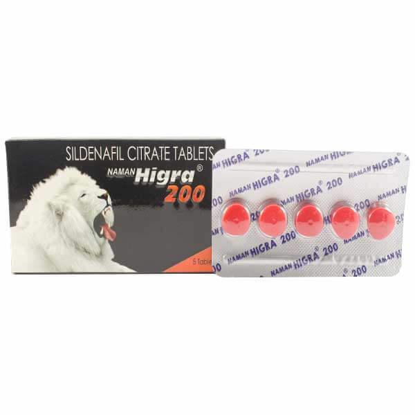 Naman-Higra-200mg-Tablets