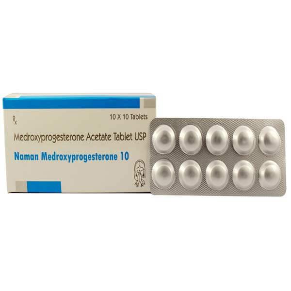 Naman-medroxyprogesterone-10mg-tablets