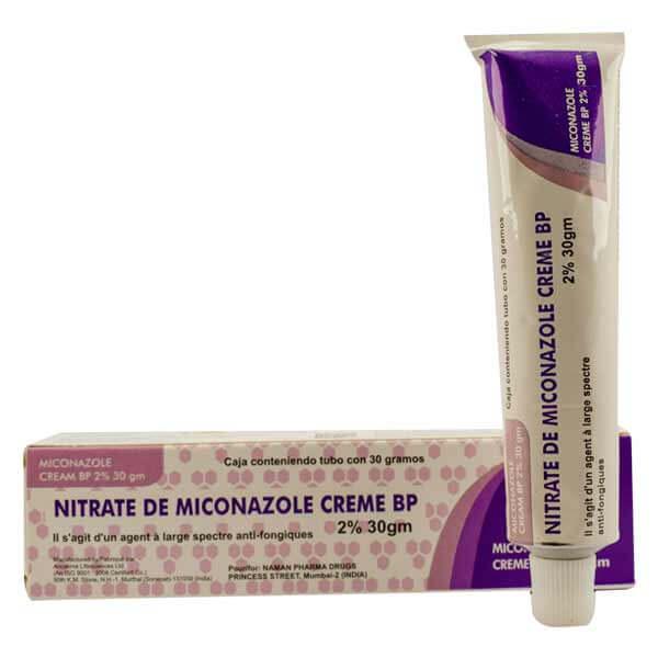 Nitrate de miconazole cream