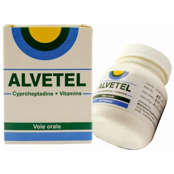 Alvetel-Cyproheptadine-tablet