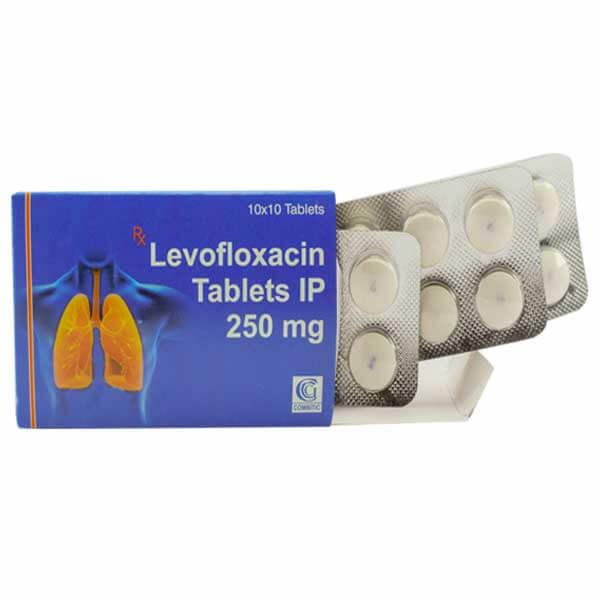 Levofloxacin-250mg-tablet