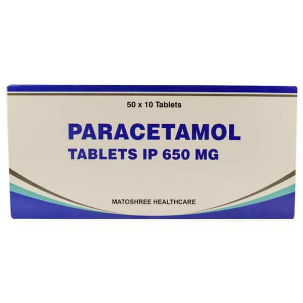 Paracetamol-650mg-tablets