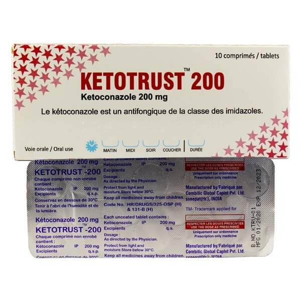 ketotrust 200mg tablet
